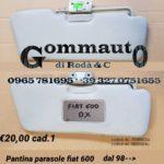 Pantina/aletta parasole Fiat 600 98 >