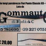 Braccio dx tergi parabrezza Fiat Punto Classic 03 > 10
