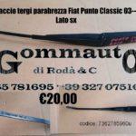 Braccio sx tergi parabrezza Fiat Punto Classic 03 > 10