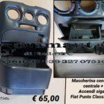 Consolle centrale con accendisigari e posacenere Fiat Punto Classic 03 > 10