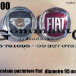 Fregio cofano posteriore Fiat