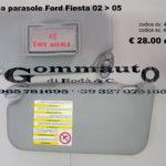 Pantina/aletta parasole Ford Fiesta 02 > 05