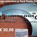 Parafango anteriore sinistro Ford Fiesta 2003