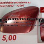 Calotta verniciabile retrovisore Lancia Y 03 > 09