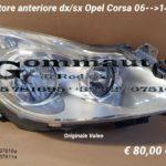Proiettore anteriore dx/sx Opel Corsa D 06 > 14