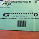 Cofano anteriore Fiat Panda 86 > 02