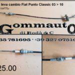 Laccio leva cambio Fiat Punto Classic 03 > 10
