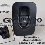 Pulsantiera alzacristalli dx Lancia Y 03 > 09