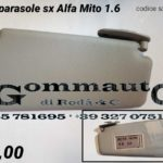 Pantina / aletta parasole sinistra Alfa Romeo Mito 08 >