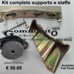 Kit completo supporto e staffe Autobianchi Y 10/ Fiat Panda 85 > 02