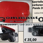 Sportello tappo carburante Fiat Panda 2012 >