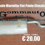 Terminale marmitta Fiat Punto Classic 03 > 10