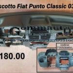 Cruscotto Fiat Punto Classic 03 > 10