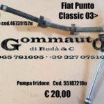 Pompa frizione Fiat Punto Classic 2003 >