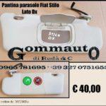 Pantina aletta parasole dx/sx Fiat Stilo 01 >