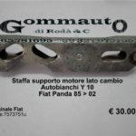 Staffa supporto motore lato cambio Autobianchi Y 10/ Fiat Panda 85 > 02