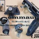 Kit maniglie,serrature e avviamento Lancia Thema 84 > 92
