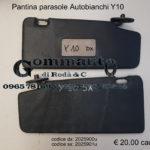 Pantina/aletta parasole destra/sinistra Autobianchi Y10 85 >