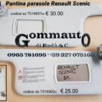 Pantina/aletta parasole dx/sx Renault Scenic 03 > 08