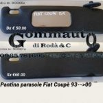 Pantina / aletta parasole Fiat Coupè 93 > 00