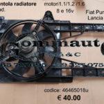 Elettroventola radiatore Fiat Punto 93> 99 / Lancia Y 96>02