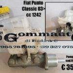Pompa freni, serbatoio olio freni, Fiat Punto Classic 03 > 10