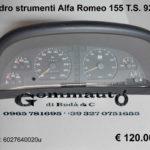 Quadro strumenti Alfa Romeo 155 Twin Spark 92 > 97