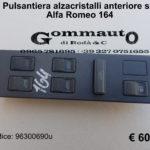 Pulsantiera alzacristalli anteriore sx Alfa Romeo 164 92 > 98