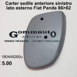 Carter sedile anteriore sinistro lato esterno Fiat Panda 86 > 02