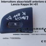 Interruttore alzacristallo anteriore dx Lancia Kappa 94 > 01