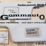 Pantina/aletta parasole dx/sx Mazda Premacy 99 >05