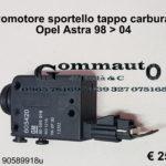 Motorino sportello tappo carburante Opel Astra 98 > 04