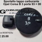 Sportello tappo carburante Opel Corsa B  3 porte 93 > 00