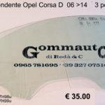 Vetro scendente dx / sx Opel Corsa D 06 > 14