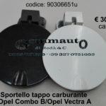 Sportello tappo carburante Opel Combo B furgone / Vectra A