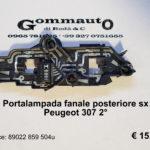 Portalampade fanale posteriore sx Peugeot 307 berlina 2005>