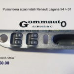 Pulsantiera alzacristalli sx Renault Laguna 94 > 01