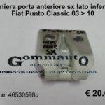 Cerniera porta anteriore sx lato inferiore Fiat Punto Classic 03 > 10