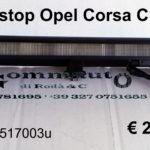 Terzo stop Opel Corsa C 2001