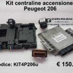 Kit centraline accensione Peugeot 206 (4 pz)