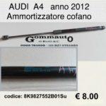 Ammortizzatore cofano Audi A4 2012