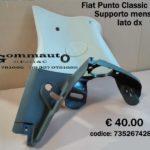 Supporto mensola lato dx Fiat Punto Classic 5p 03 >