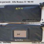Pantina/aletta parasole Alfa Romeo 33  90>95