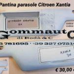 Pantina aletta parasole dx / sx Citroen Xantia