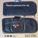 Pantina/ aletta dx/sx  parasole Fiat 126