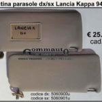 Pantina/ aletta parasole dx / sx Lancia Kappa 94 > 01