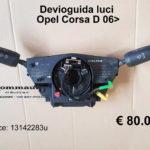Devioguida luci Opel Corsa D 06 >