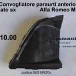 Convogliatore paraurti anteriore lato sx Alfa Romeo Mito