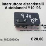 Interruttore alzacristalli Autobianchi Y10 1993