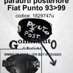 Tappo gancio traino paraurti posteriore Fiat Punto 93>99